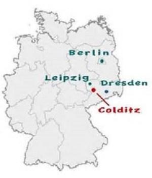 localisation de Colditz oflag IV C