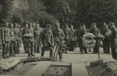 prisonniers de guerre  enterrement au stalag III B