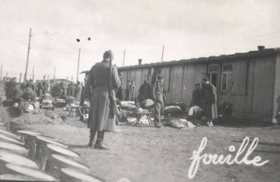prisonniers de guerre la fouille oflag X