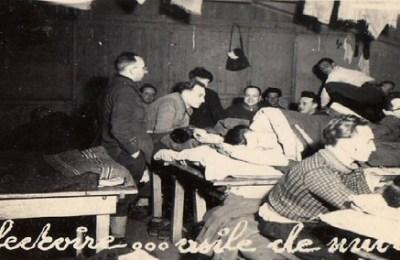 prisonniers de guerre le réfectoire oflag X
