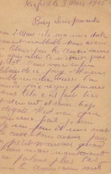 témoignage libération du camp situé à KREFELD 3 mars 1945