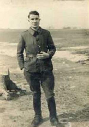 PHOTO SOLDAT GRUSELLE Marcel STALAG I B - Hohenstein Prusse