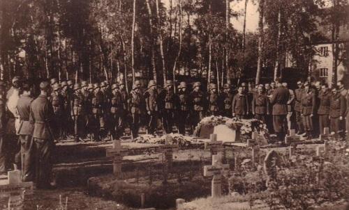 prisonniers de guerre enterrement au camp de sagan STALAG VIII C
