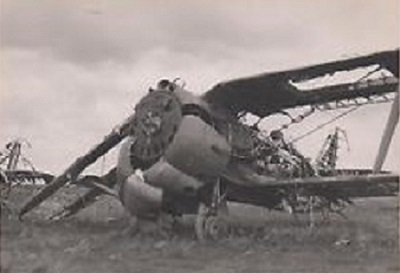 avion crashé bataille de france