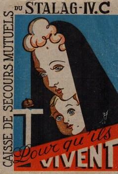 carte illustrée de stalag stalag IV C