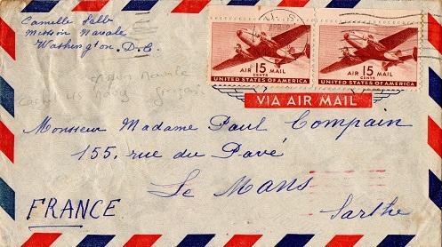 mission navale militaire française aux Etats-unis