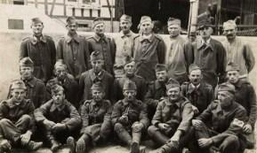 photo prisonniers de guerre Stalag IX B recto