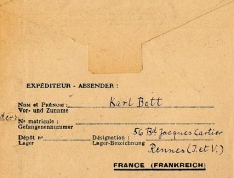 prisonniers de guerre allemands en France n°1102