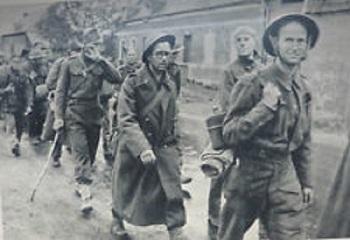 prisonniers de guerre britanniques après Dunkerque