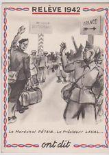 prisonniers de guerre brochure 'la releve'