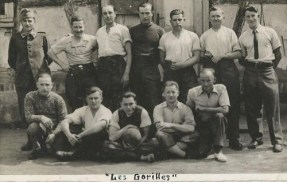 prisonniers de guerre groupe' les gorilles' le goff louis STALAG IX B kommando 109