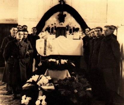 prisonniers de guerre Touchard Adrien STALAG V A FETE DES MORTS
