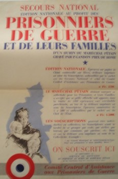 affiche secours national