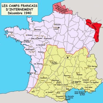 camps d'internement en france 1940