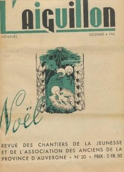 chantiers de jeunesse l'aiguillon journal de la province d'Auvergne