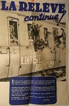 la relève Compiègne 1942