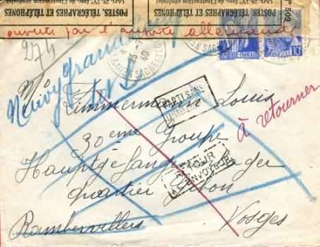 prisonniers de guerre front-stalag rambervilliers (vosges)