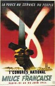 affiche de la milice 1944