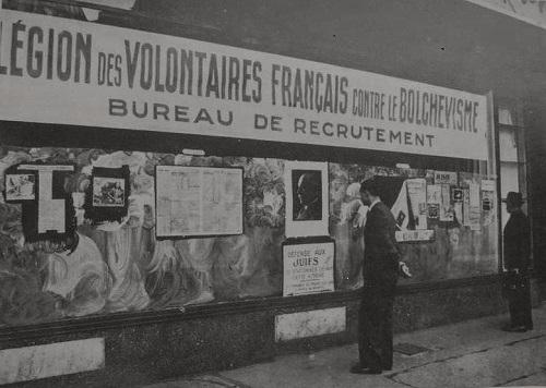 Bureau de recrutement de la légion des volontaires