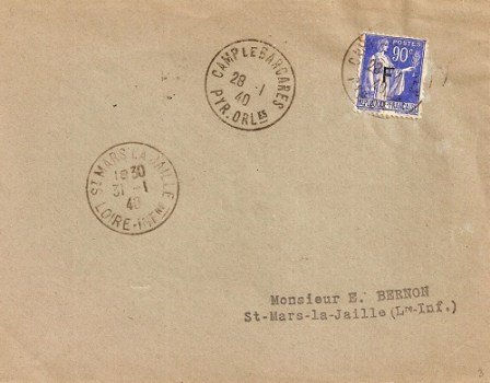 camp le barcarès 28 01 1940