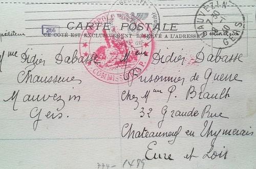 prisonniers de guerre front stalag chartres