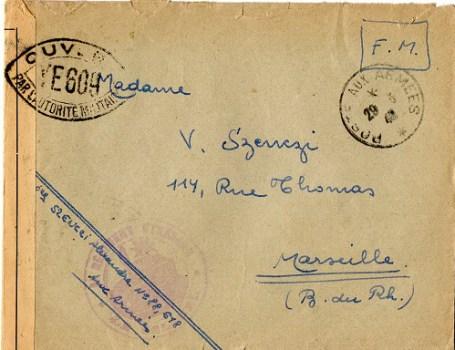 controle postal YE 609