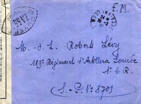 controle postal ZA 551