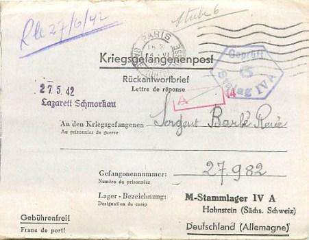 prisonniers de guerre hopital de schmorkau stalag IV A