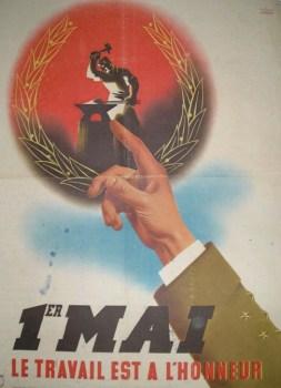 propagande Pétain pour le 1er mai