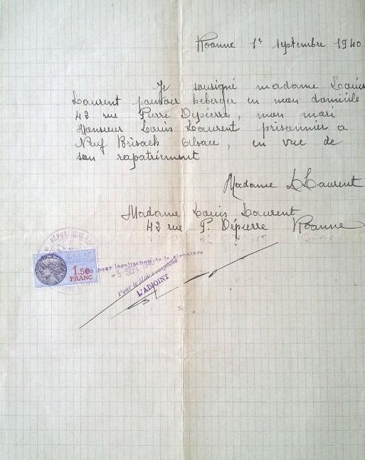 Attestation D Hebergement Pour Liberation De Prisonnier De