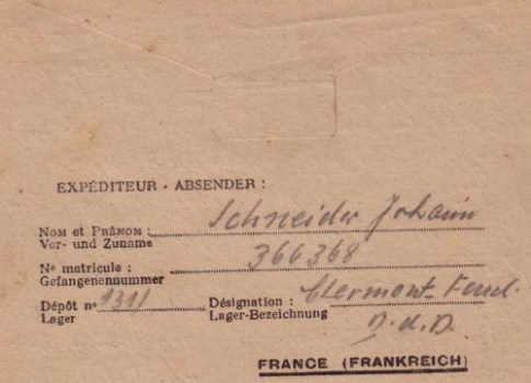 prisonniers de guerre allemands camp n°1311