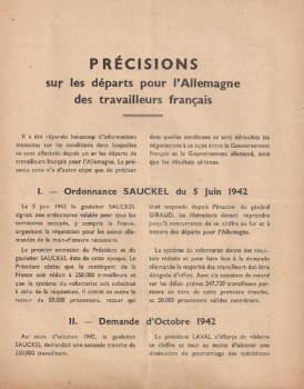 ordonnance Saukel 05 06 1942