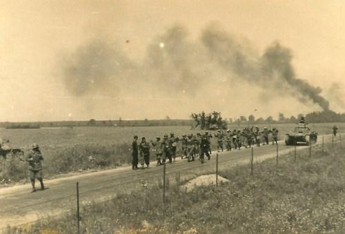 chars allemands et prisonniers de guerre français mai juin 1940