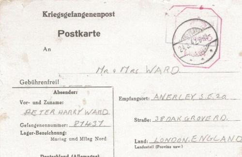 prisonniers de guerre marlag/milag 24 03 1942