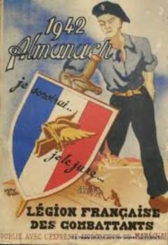 almanach de la LVF 1942