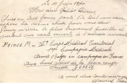 11.06.1940 Armée Belge en campagne en France