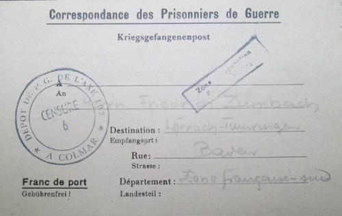 prisonniers de guerre allemands en france camp n°102