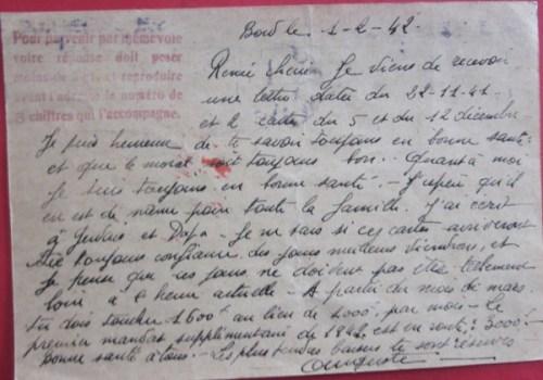 cuirassé Lorraine interné à Alexandrie 20 03 1942