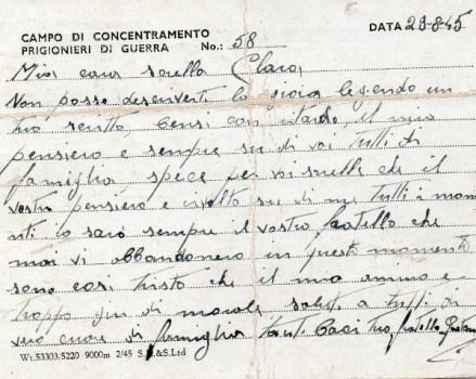 prisonniers de guerre italien au RU camp n° 58