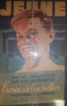 affiche sto de l'office de placement allemand