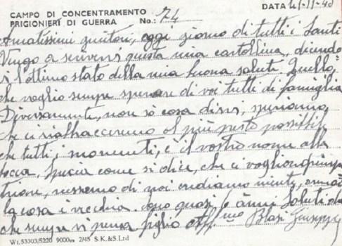 prisonniers de guerre au R.U camp 74