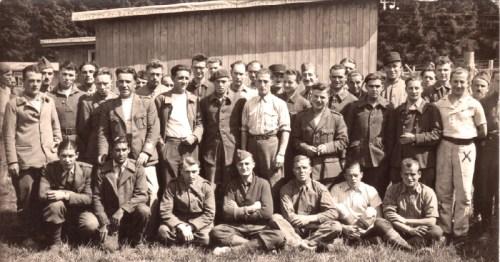 bataillon de travailleurs 45 prisonnier de guerre léon noguéro merci à mr Noguéro fils