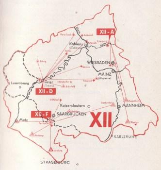 carte de la 12e région