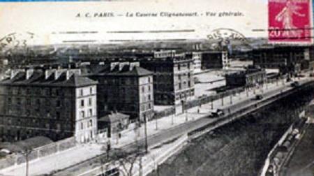 la caserne Clignancourt