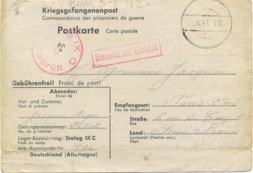 24 12 1941 stalag IX C
