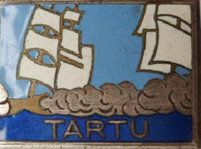 blason contre torpilleur le tartu