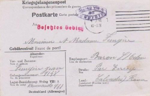04 09 1941 stalag VIII A