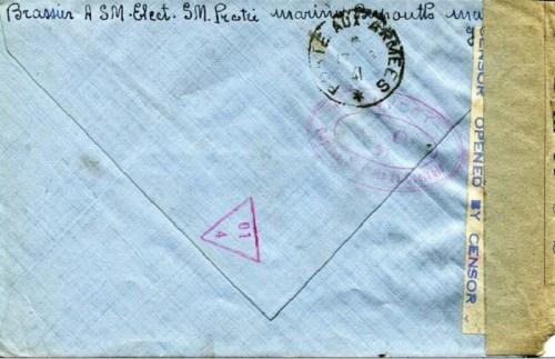 sous marin Protée 12 05 1941à Beyrouth