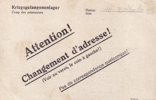 28 11 1941 stalag II E verso