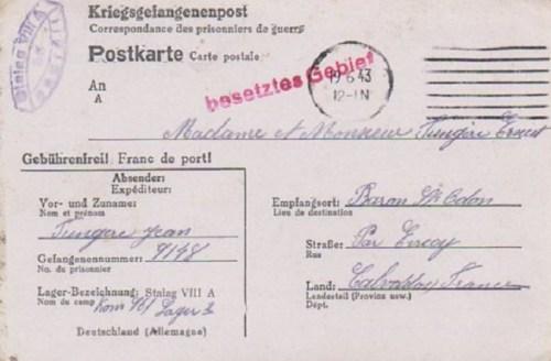 19 06 1943 stalag VIII A